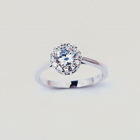 ESHOPSPERKY.CZ - Stříbrný prsten s kameny 66222ae72ad