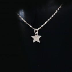 Stříbrný přívěsek hvězda