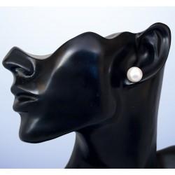 Stříbrné naušnice s kameny