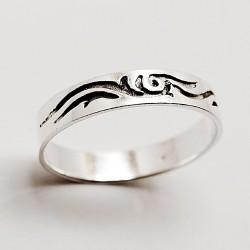 Stříbrný prsten pánský