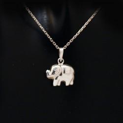 Stříbrný přívěsek slon 4