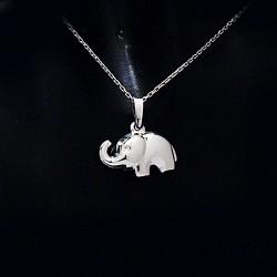 Stříbrný přívěsek slon 5