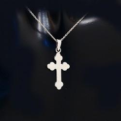 Stříbrný přívěsek křížek