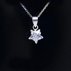 Stříbrný přívěsek hvězdička