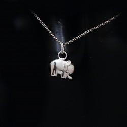Stříbrný přívěsek slon 7