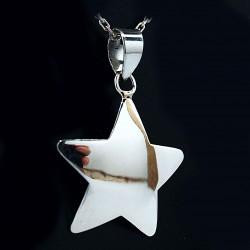 Stříbrný přívěsek hvězda 2